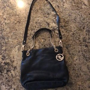 Michael Kors black leather bag excellent condition